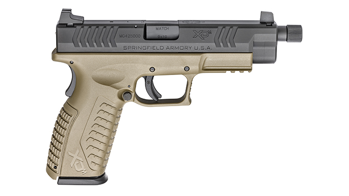 Springfield XDM 4.5 inch Threaded Barrel handgun