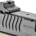 Springfield XDM 4.5 inch Threaded Barrel pistol rear sight
