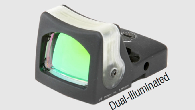Trijicon RMR Type 2 dual illuminated