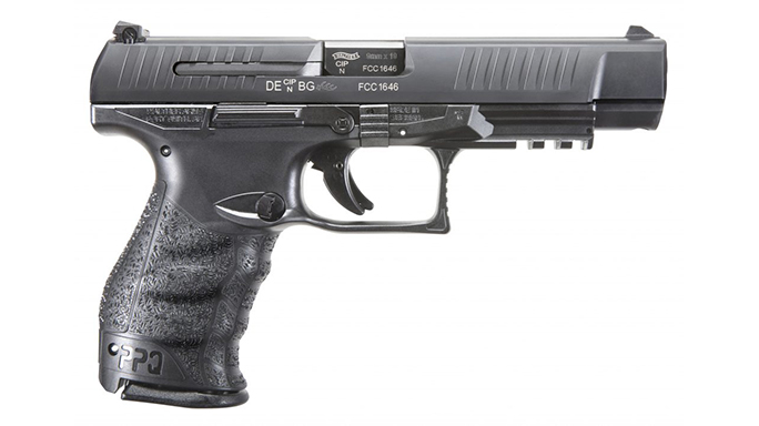 WALTHER PPQ M2 STANDARD SLIDE pistol right profile