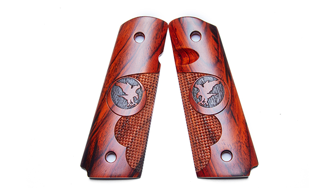 Nighthawk Cocobolo Finger Groove Pin Point aftermarket grips