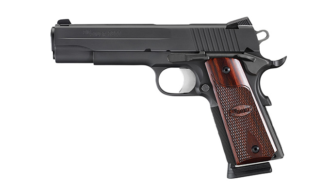 Sig Sauer 1911 Rosewood aftermarket grips
