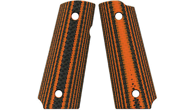 VZ 320 Carbon Fiber Orange aftermarket grips