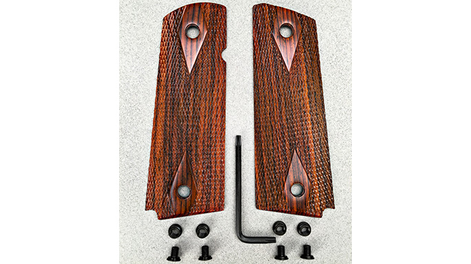 Chip McCormick Rosewood Slim Carry aftermarket grips