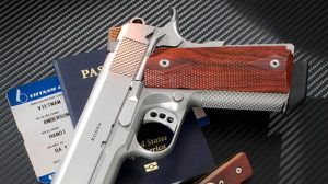 Ed Brown Double-Diamond Laminate aftermarket grips