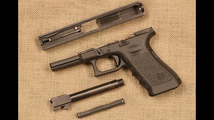 Gun cleaning Glock 22