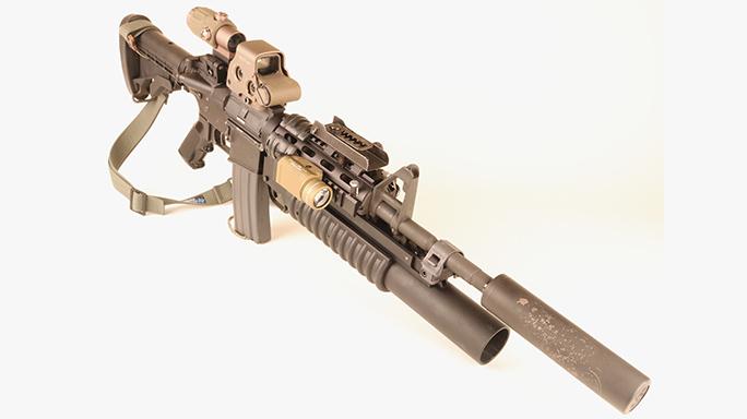 Gun cleaning M4A1