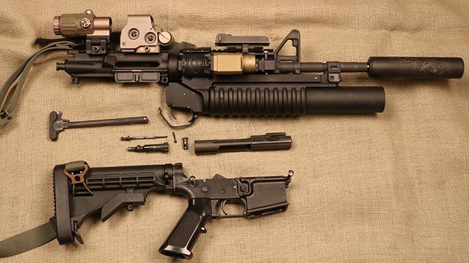 Gun cleaning rifle