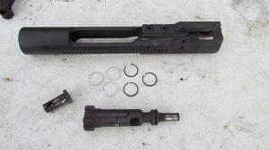 Gun cleaning gas rings