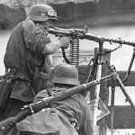 German MG34 machine gun dunkirk