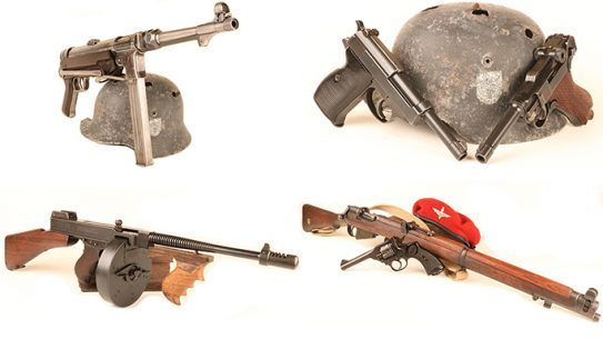 Guns Used in Dunkirk