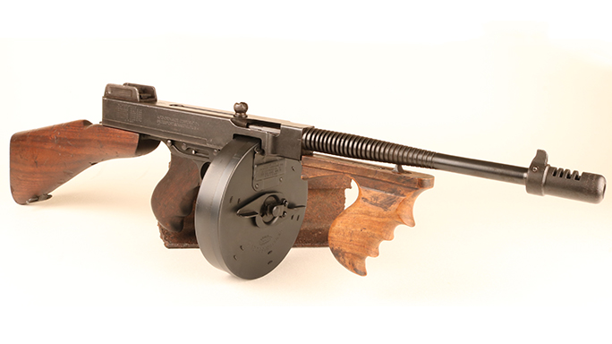 1928 Thompson submachine gun dunkirk