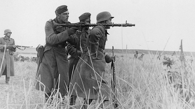 German MG34 machine gun eastern front world war II