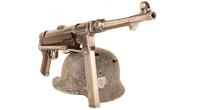 German MP40 submachine gun dunkirk