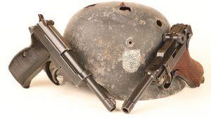 Dunkirk P08 Luger P38 handgun