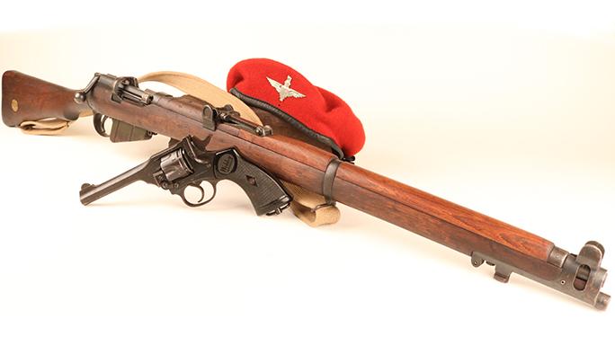 Short-Magazine Lee-Enfield rifle Webley revolver dunkirk