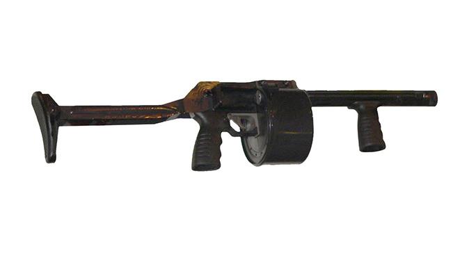 Gun Fails Streetsweeper shotgun lead