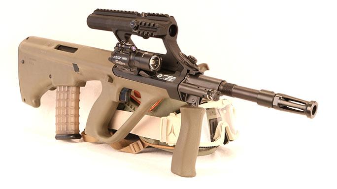Gun Industry future Steyr Aug solo
