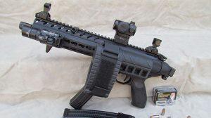 Gun Industry future Pistol Stabilizing Brace lead