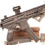 Gun Industry future Pistol Stabilizing Brace extend