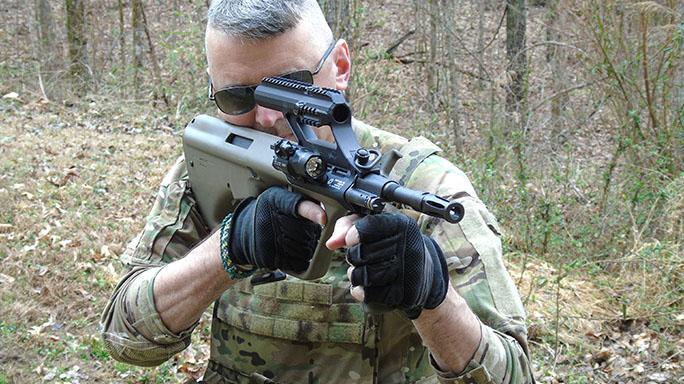 Gun Industry future Steyr Aug field