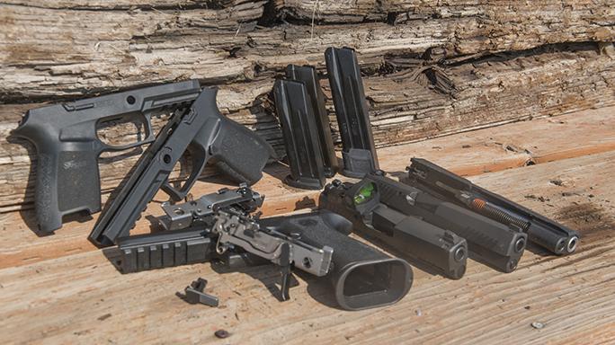 Sig P320 Pistol hype parts