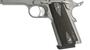 Sig 1911 Match Elite Stainless pistol grip