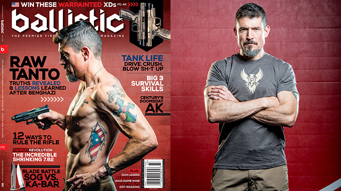 Tanto S Ballistic Magazine Cover We Stand With American