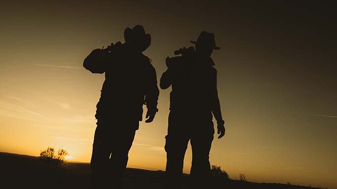 Bergara B-14 rifle silhouette