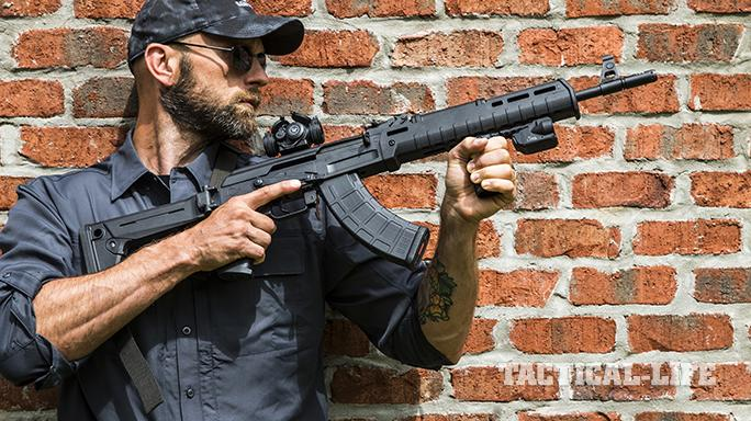 Century Arms C39v2 rifle wall