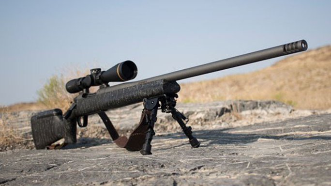 Christensen Arms Mesa Long Range rifle right angle