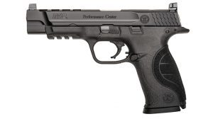 Smith & Wesson M&P9 PC Ported competition pistol