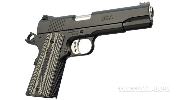 The Ed Brown Special Forces pistol right profile