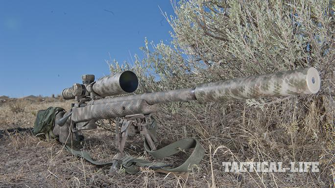 Custom FN SPR A5M .308 Precision Rifle right angle