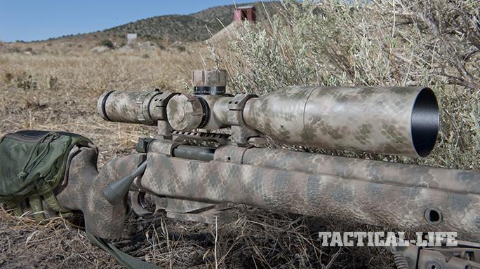 Custom FN SPR A5M .308 Precision Rifle scope