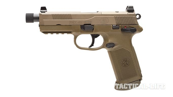 Sig P227 TACOPS and FNX-45 Tactical pistol