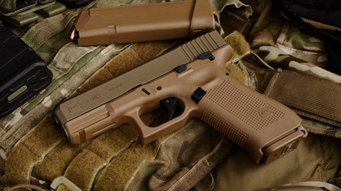 9mm Glock MHS pistol