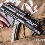 HK SP5K pistol concealed
