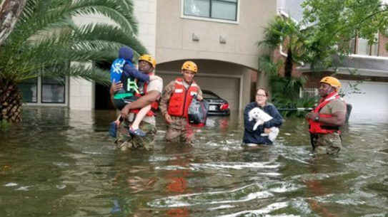 national guard hurricane harvey rescue