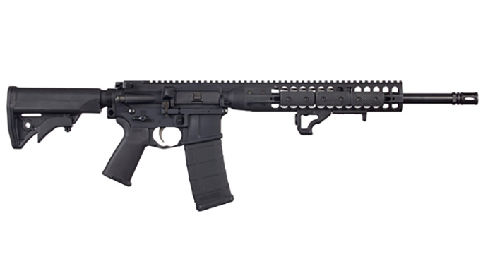 LWRCI IC DI 300 BLK rifle right profile