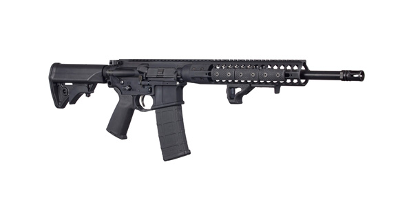 LWRCI IC DI 300 BLK rifle right angle