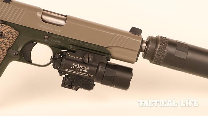 Kimber Warrior SOC TFS pistol surefire