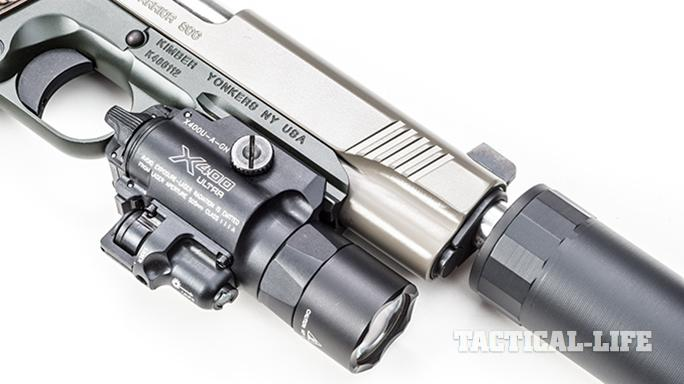 Kimber Warrior SOC TFS pistol light