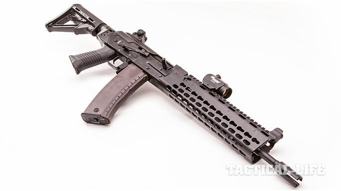 Krebs KV-13 Mod 1 rifle angle