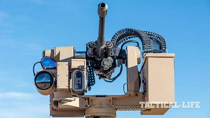 orbital atk bushmaster user conference chain gun front view
