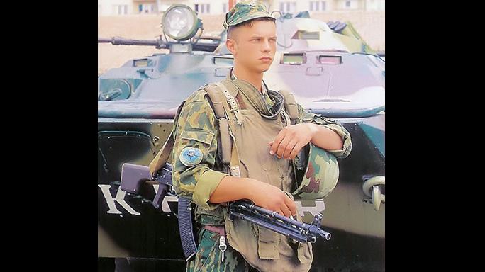 RPK-74 russian soldier