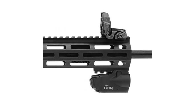 smith wesson M&P15T rifle crimson trace linq closeup