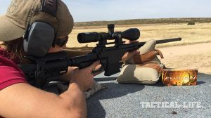 Savage 10 BA Stealth rifle test