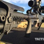 Savage 10 BA Stealth rifle fab defense stock