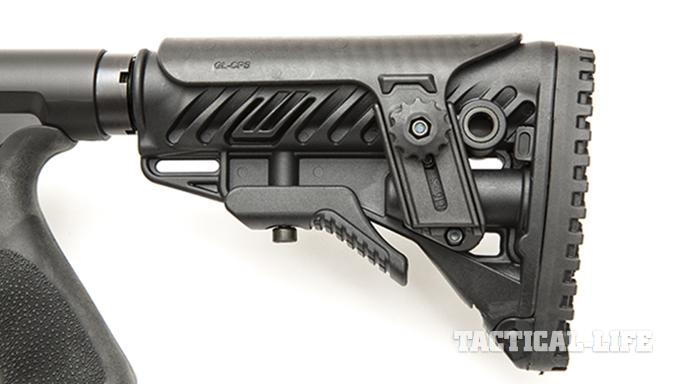 Savage 10 BA Stealth rifle stock